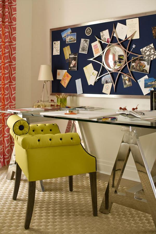 На фото: дизайн кабинета в квартире 3