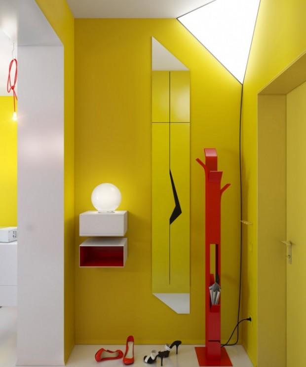 Интерьер маленькой квартиры 11