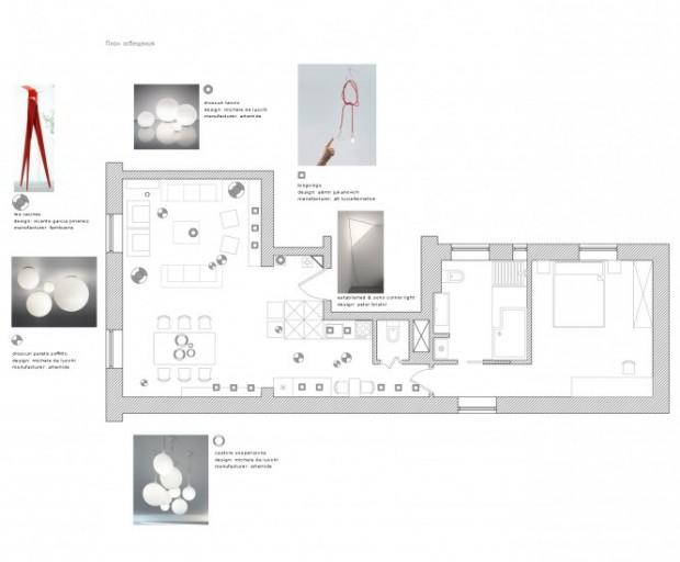 Интерьер маленькой квартиры 14