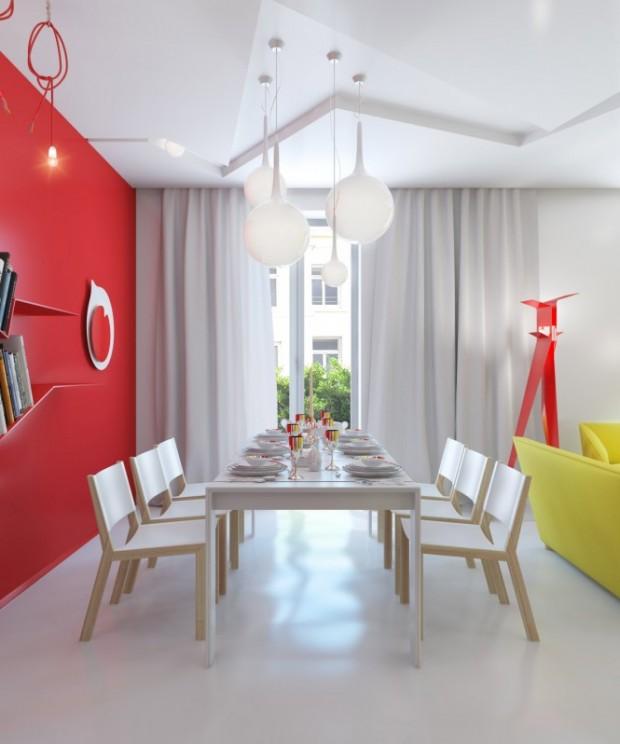 Интерьер маленькой квартиры 12