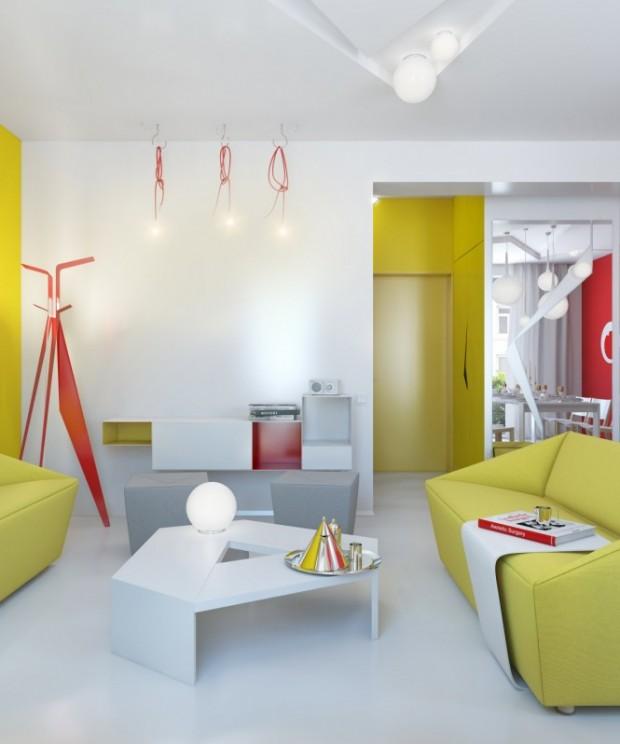 Интерьер маленькой квартиры 5