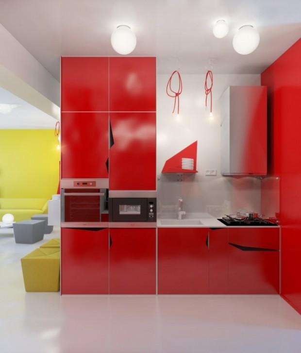 Интерьер маленькой квартиры 7
