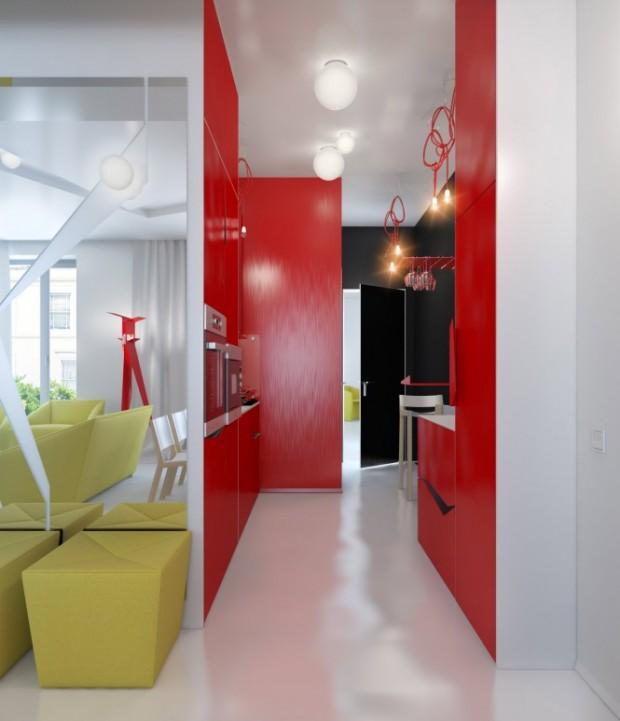 Интерьер маленькой квартиры 8