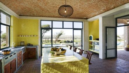Особенности кухни желтого цвета
