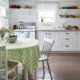 Интерьер и дизайн кухни в белом цвете