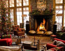 Интерьер недели: Дом Аманды Брукс перед Рождеством