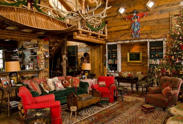 Дом Аманды Брукс перед Рождеством 2