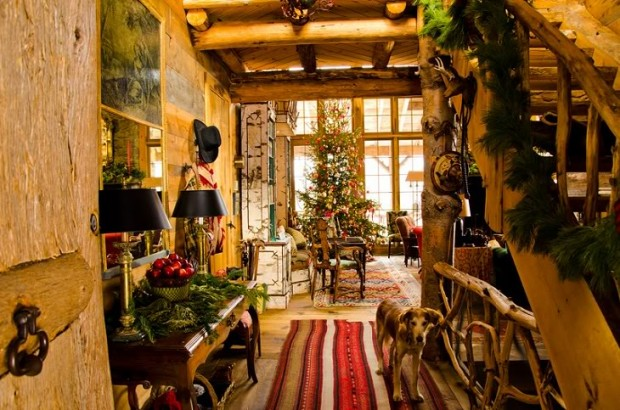 Дом Аманды Брукс перед Рождеством 9