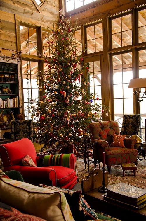 Дом Аманды Брукс перед Рождеством 11