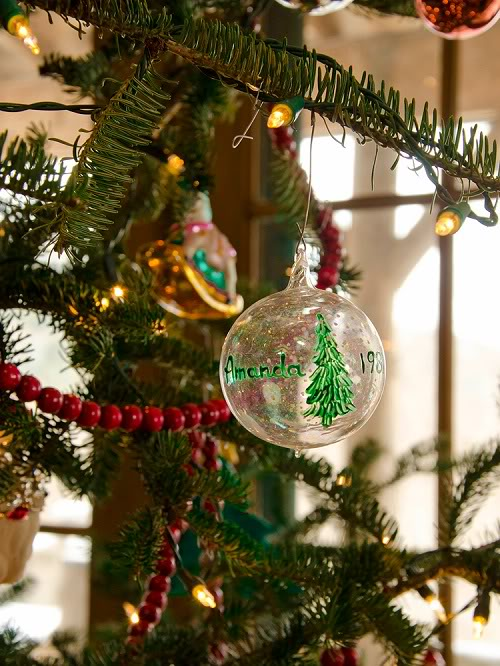 Дом Аманды Брукс перед Рождеством 12