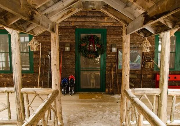 Дом Аманды Брукс перед Рождеством 13