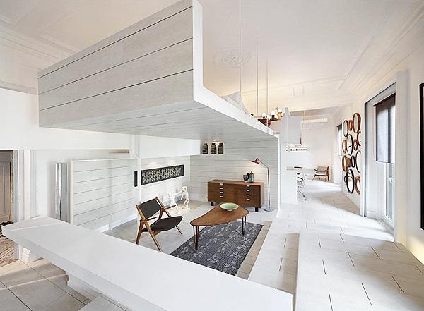Светлая квартира в Мадриде 3