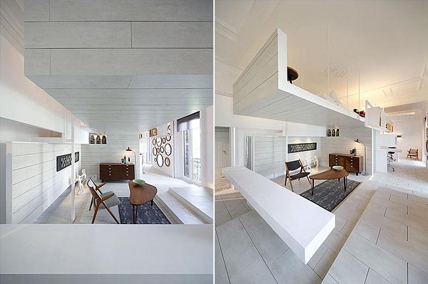 Светлая квартира в Мадриде 8