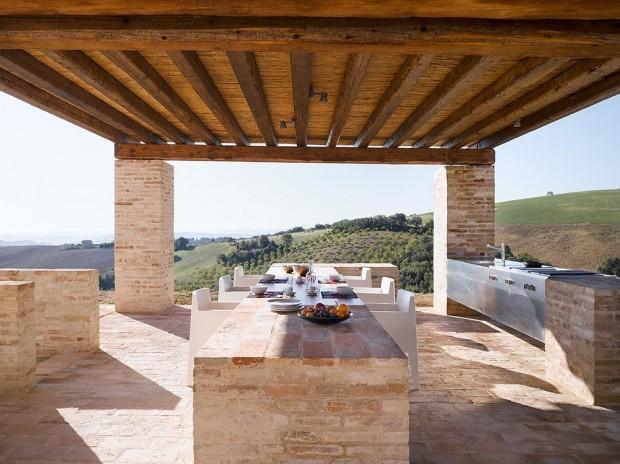 Оливковый дом в Италии 4