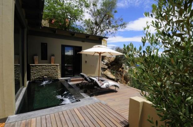 Маленький отель в Намибии