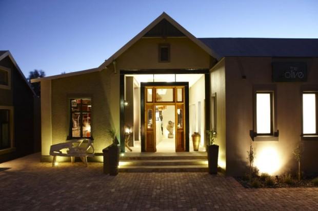 Маленький отель в Намибии 19