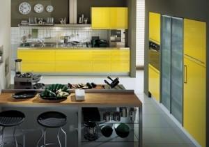 Кухня в стиле модерн, ничего лишнего
