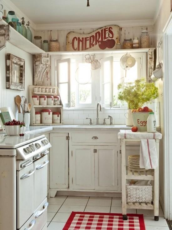 Фото маленькая кухня стиль дизайн интерьера