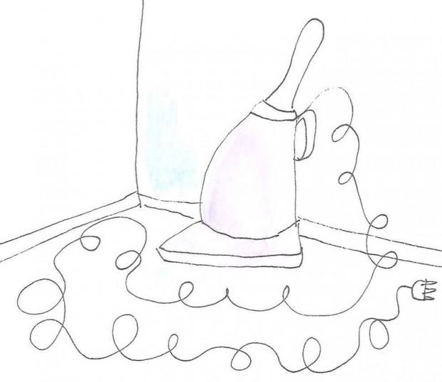 Иллюстрация пылесоса