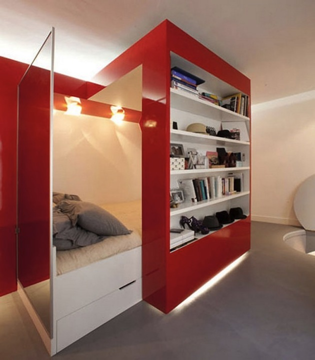 Small fitted bedrooms