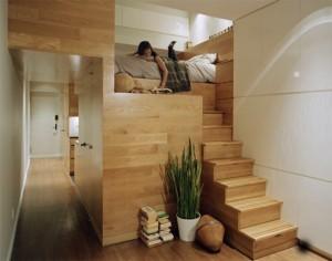 Использование каждого сантиметра небольшой квартиры