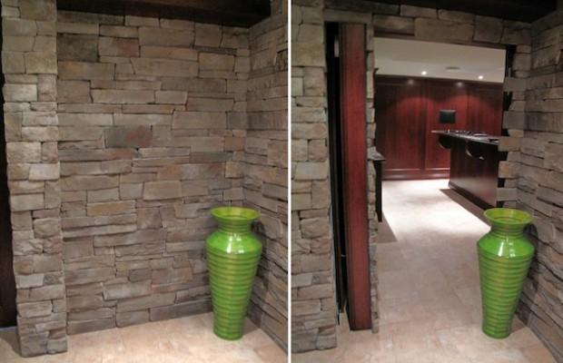 Тайная комната за каменной стеной