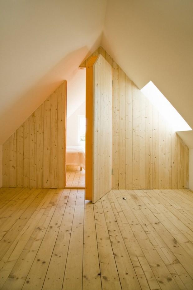 Незаметный тайная комната в доме