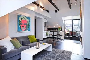 Дизайнерские идеи для малогабаритных квартир 16