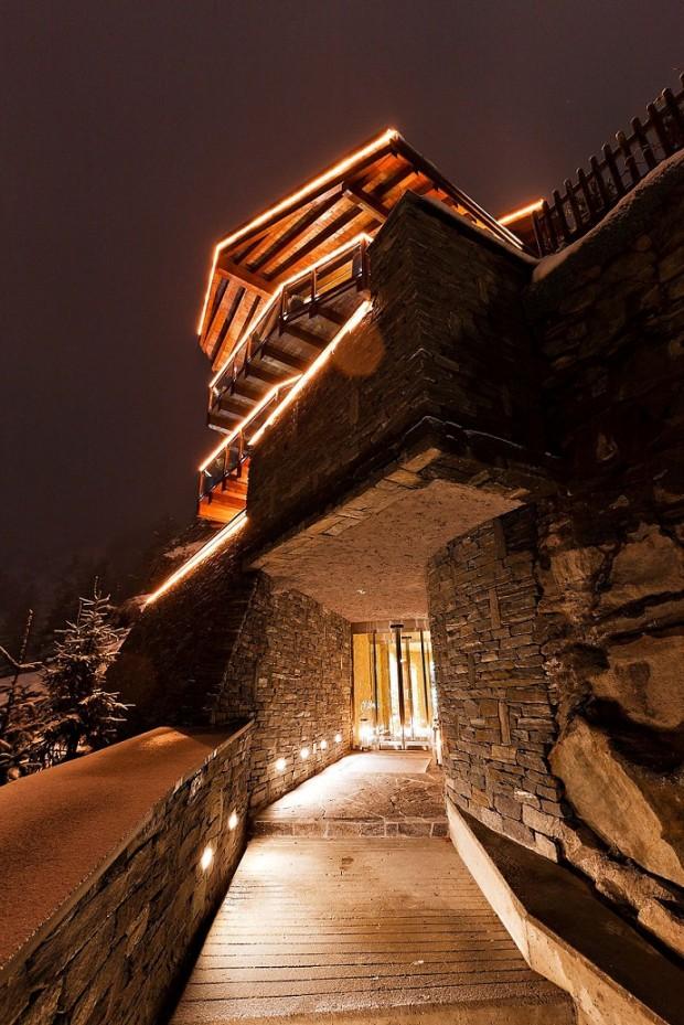 Интерьер недели: Альпийское шале