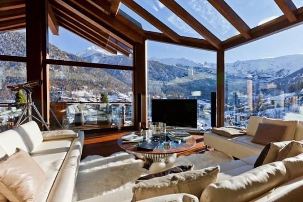 Интерьер недели: Альпийское шале 10