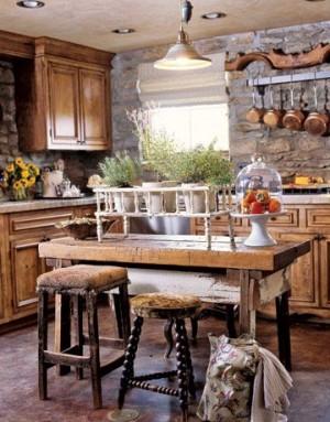 Ретро кухня в Баварском стиле