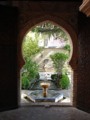 Интерьер в мавританском стиле 1