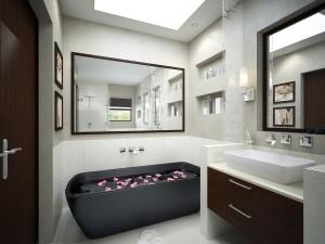 Ванная комната в стили модерн (2)