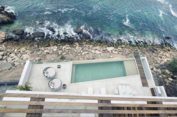 Интерьер недели: Дом на берегу Мексики 15