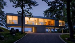 Необычный дом парящий в воздухе