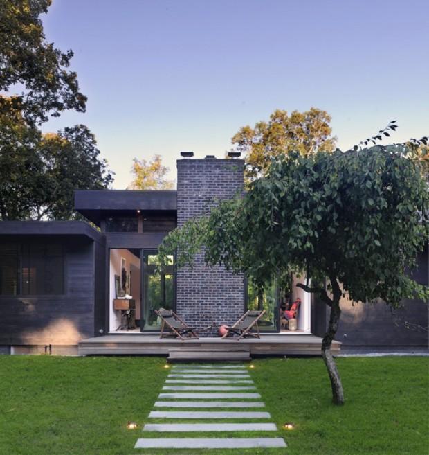 Интерьер недели: Американский загородный дом 3
