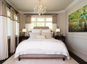 Роскошная небольшая спальня