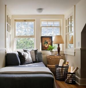 Деревенский стиль в спальне