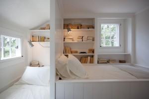 Разделение небольшой комнаты для нескольких спальных зон