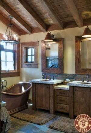 Окно в ванной комнате 43