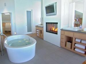 Ванная комната с камином (2)