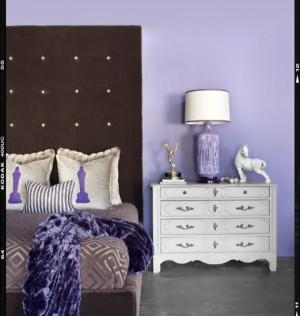 Лиловая спальня 17
