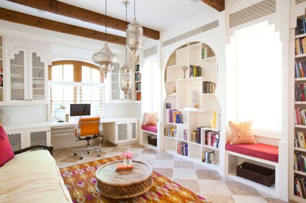Современный интерьер в мавританском стиле