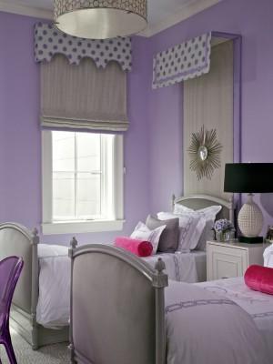Лиловая спальня 22