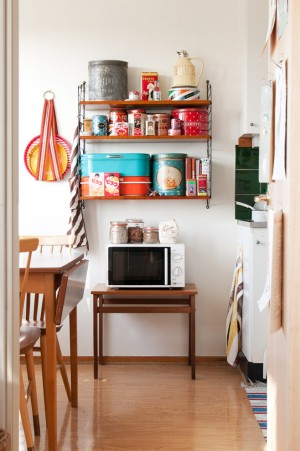 Декор кухни своими руками полками для составления ёмкостей разного размера