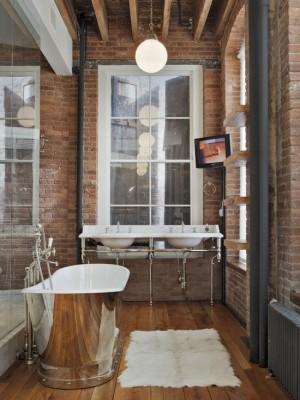 Фото ванны в стили минимализм