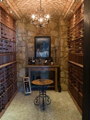 Каменный винный погреб