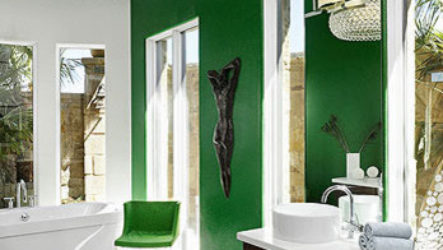 Роскошные интерьеры ванных комнат: 40 фото идей