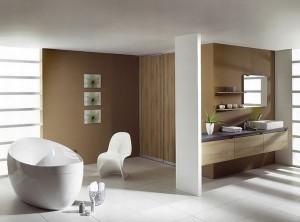Роскошная ванная комната в стиле минимализм(2)
