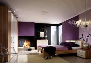 Лиловая спальня 26